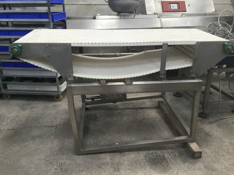 ENE White Intralox Conveyor at Food Machinery Auctions