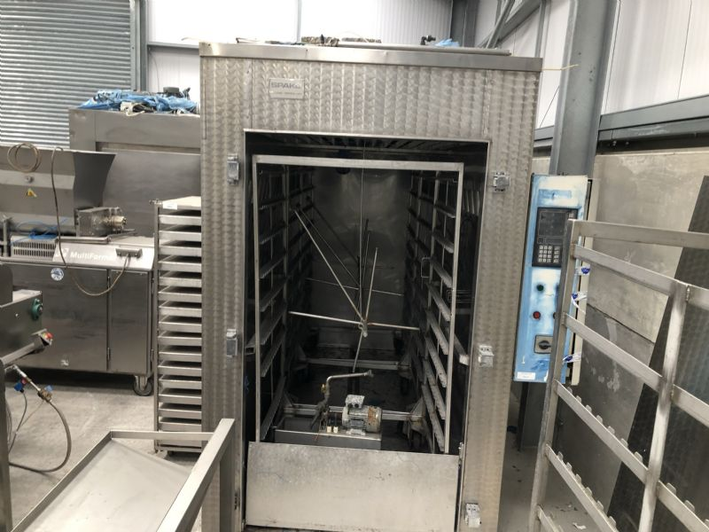 Spako Three Trolley Smoke House at Food Machinery Auctions