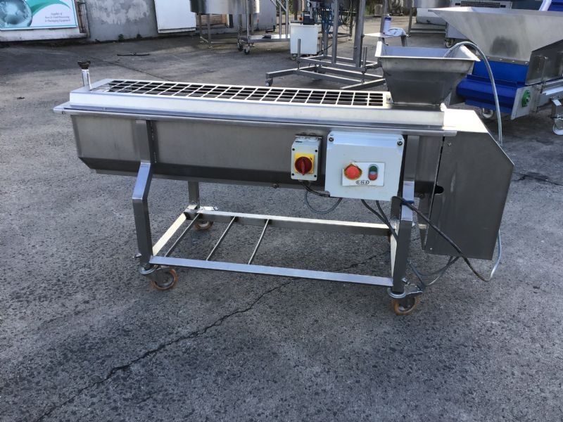 Francis Overall Carrot Baton Machine and Slither Remover at Food Machinery Auctions
