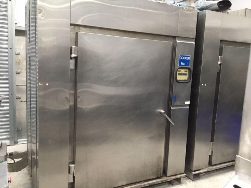 JBT Double D Steam Rack Oven at Food Machinery Auctions