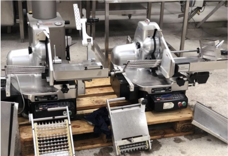 Berkel 834 EPB Meat Slicer Stacker at Food Machinery Auctions