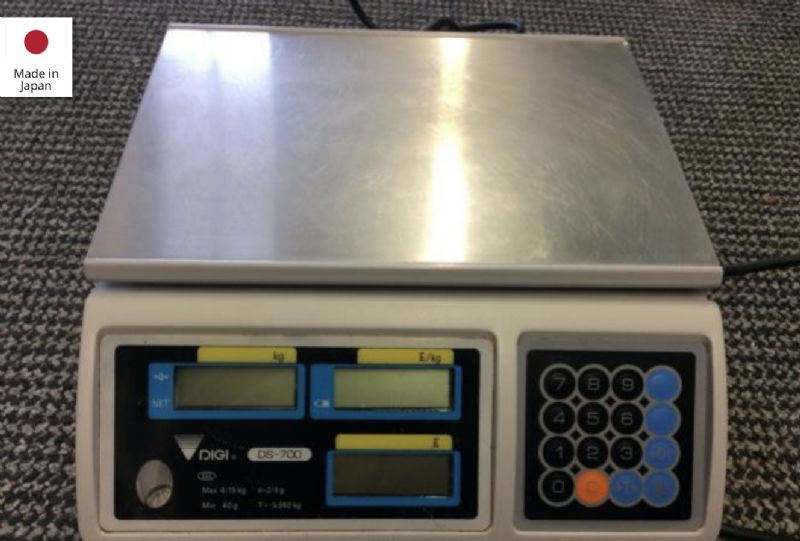Digi DS700 Table Top Scales at Food Machinery Auctions