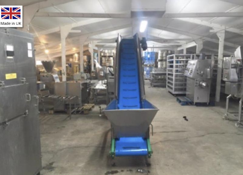 Dodman PU Incline Belt Conveyor at Food Machinery Auctions