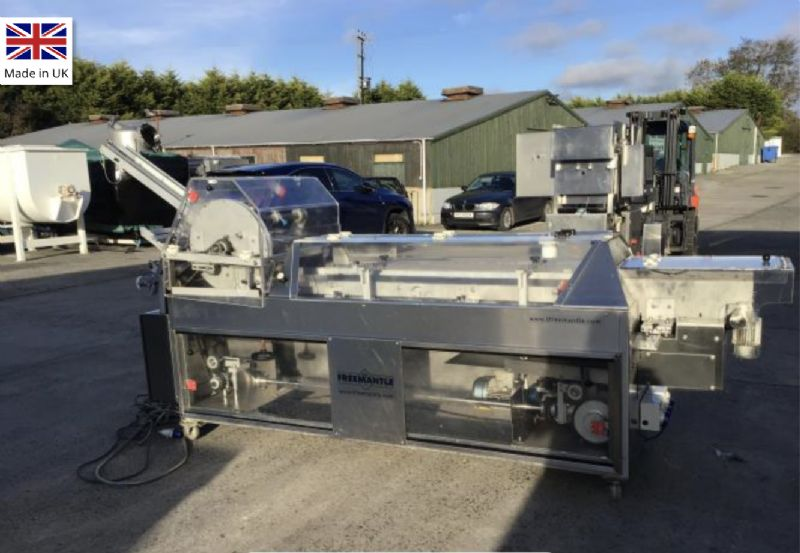 Freemantle S11 Semi Automatic Pre-Glued Sleever at Food Machinery Auctions