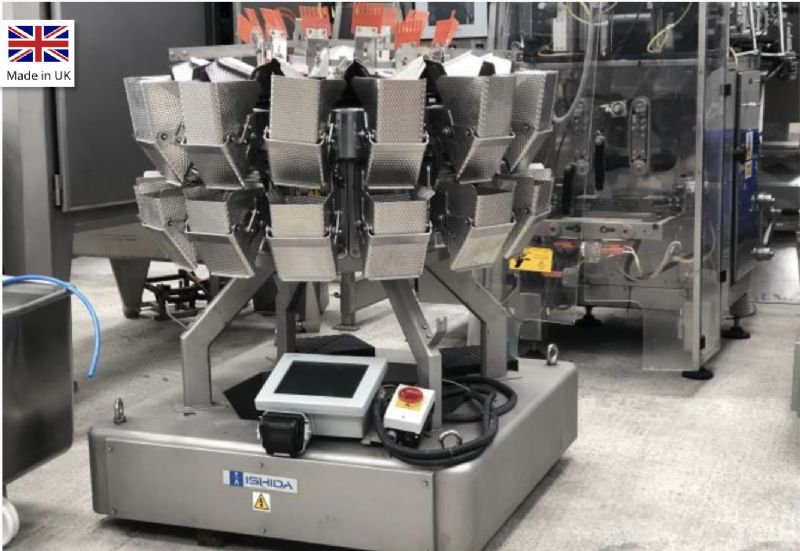 Ishida 14 Head Multi-Head Weigher at Food Machinery Auctions