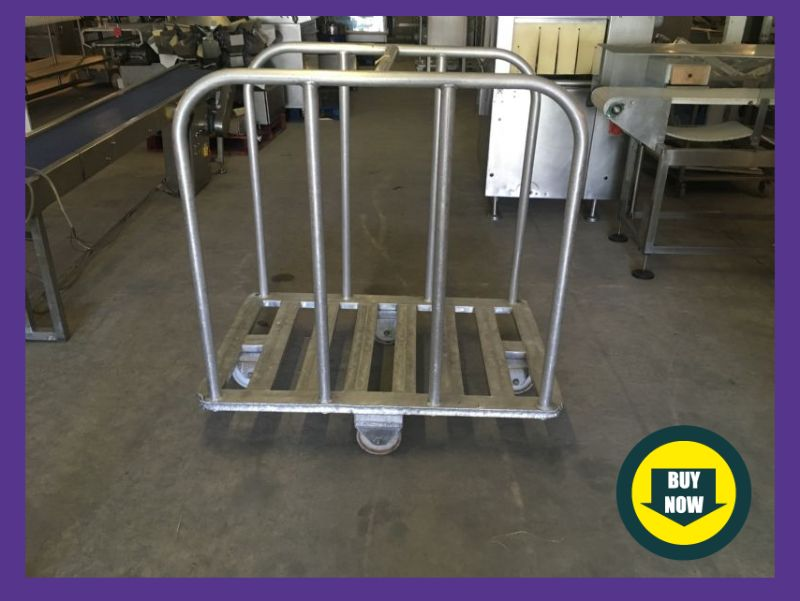 Stainless Steel Portable Trolley at Food Machinery Auctions