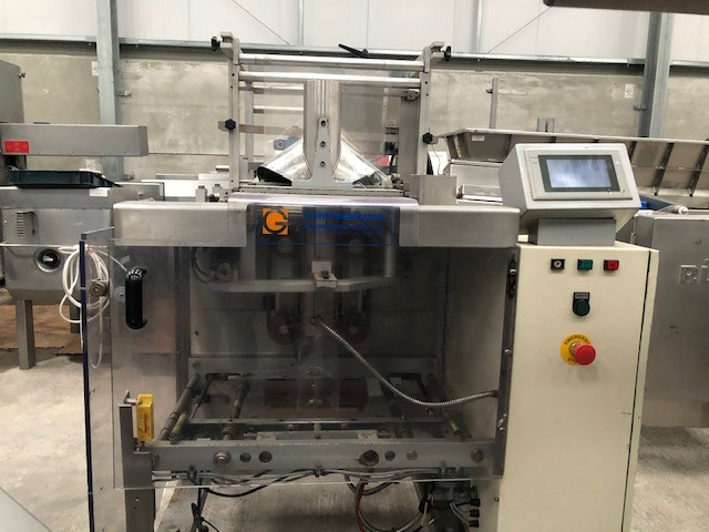 Gainsborough Bag Sealing Machine VFFS with Jaguar Coder at Food Machinery Auctions