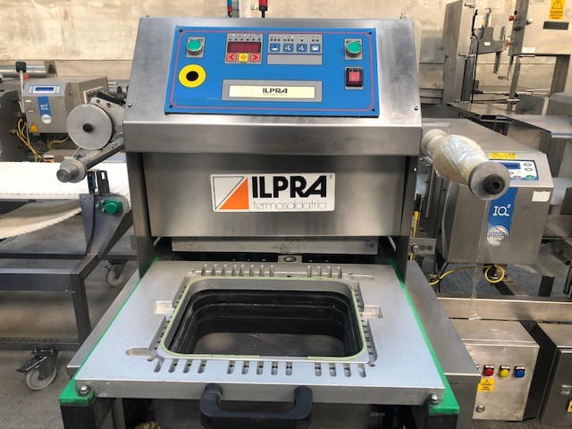 Ilpra Foodpack 400 VG Tray Sealer at Food Machinery Auctions